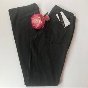 Cabi Jeans Black Shadow Curvy Slim Boot Size 6L